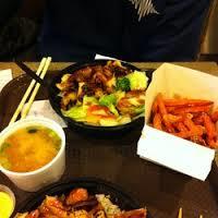 Bento Box Japanese Fast Food
