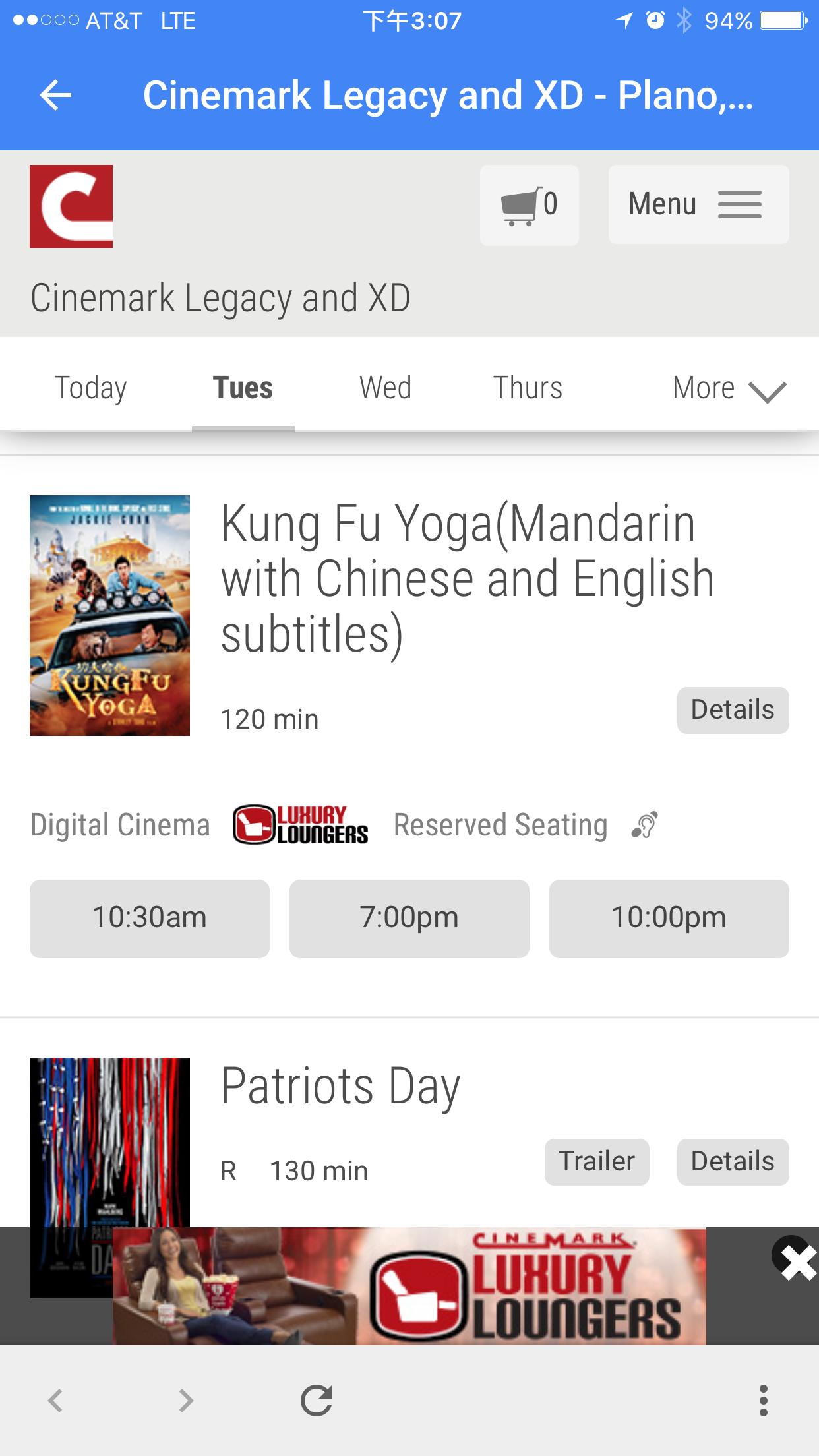 北美1月27日,电影《功夫瑜伽-Kung Fu Yoga》就是逗你笑!(截止时间2017年1月31日)