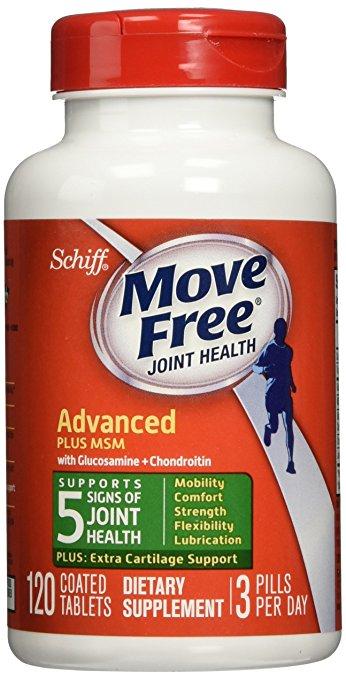 Schiff Move Free氨糖维骨力 氨基葡萄糖MSM 绿盒120粒