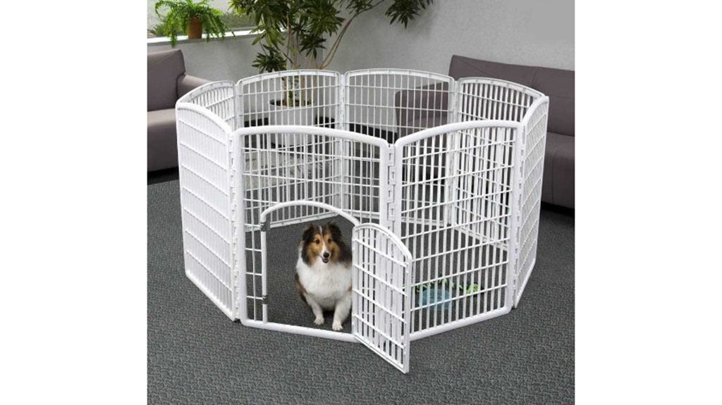 IRIS塑料宠物围栏,34英寸
