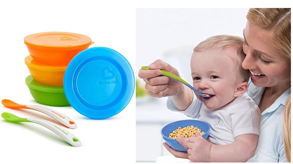 Munchkin 婴儿餐具套装(10件套)