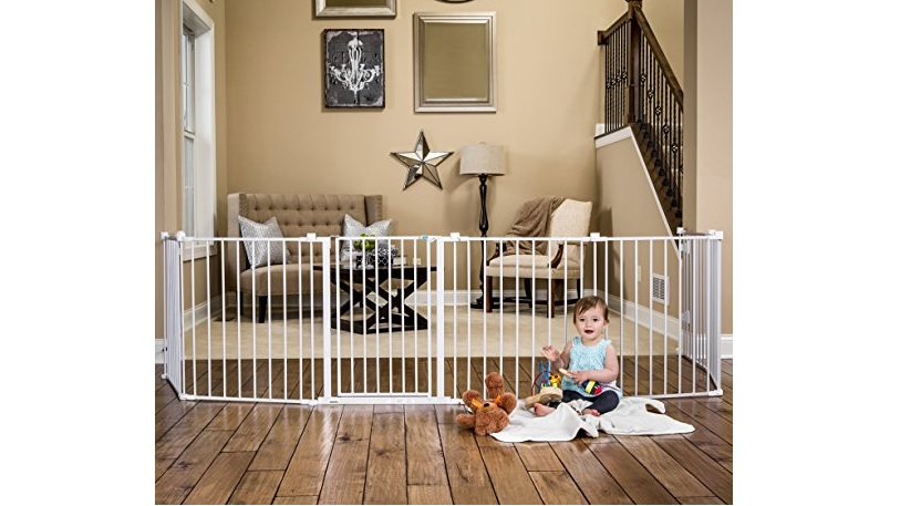 Regalo 192英寸超长婴幼儿栅栏 宝宝的安全空间