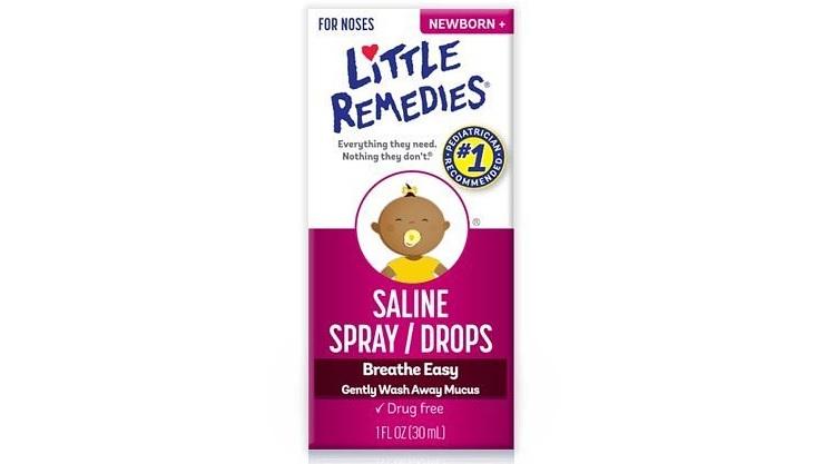 Little Remedies 宝宝盐水滴鼻剂 6瓶装