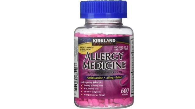 Kirkland600片抗过敏药只需$8.95