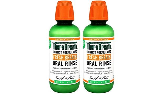 看牙医贵?TheraBreath 漱口水两瓶装