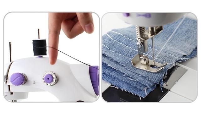 家用缝纫机 Imax FHSM-202 Mini 2-Speed Sewing Machine
