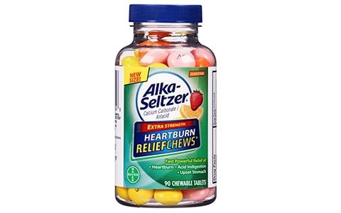 胃痛胃胀?Alka-Seltzer 胃痛缓解咀嚼片