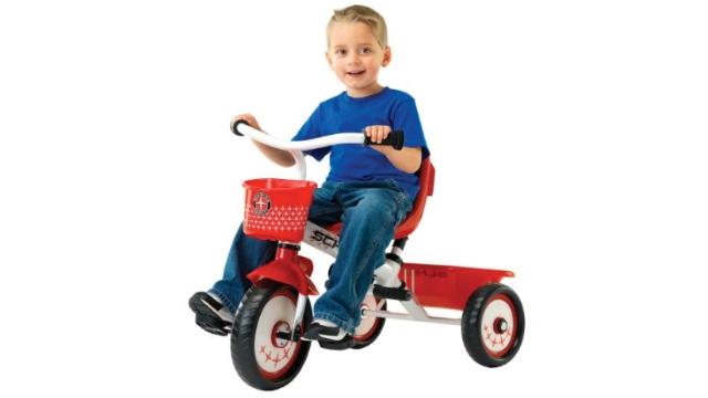 Schwinn 多功能儿童三轮手推车