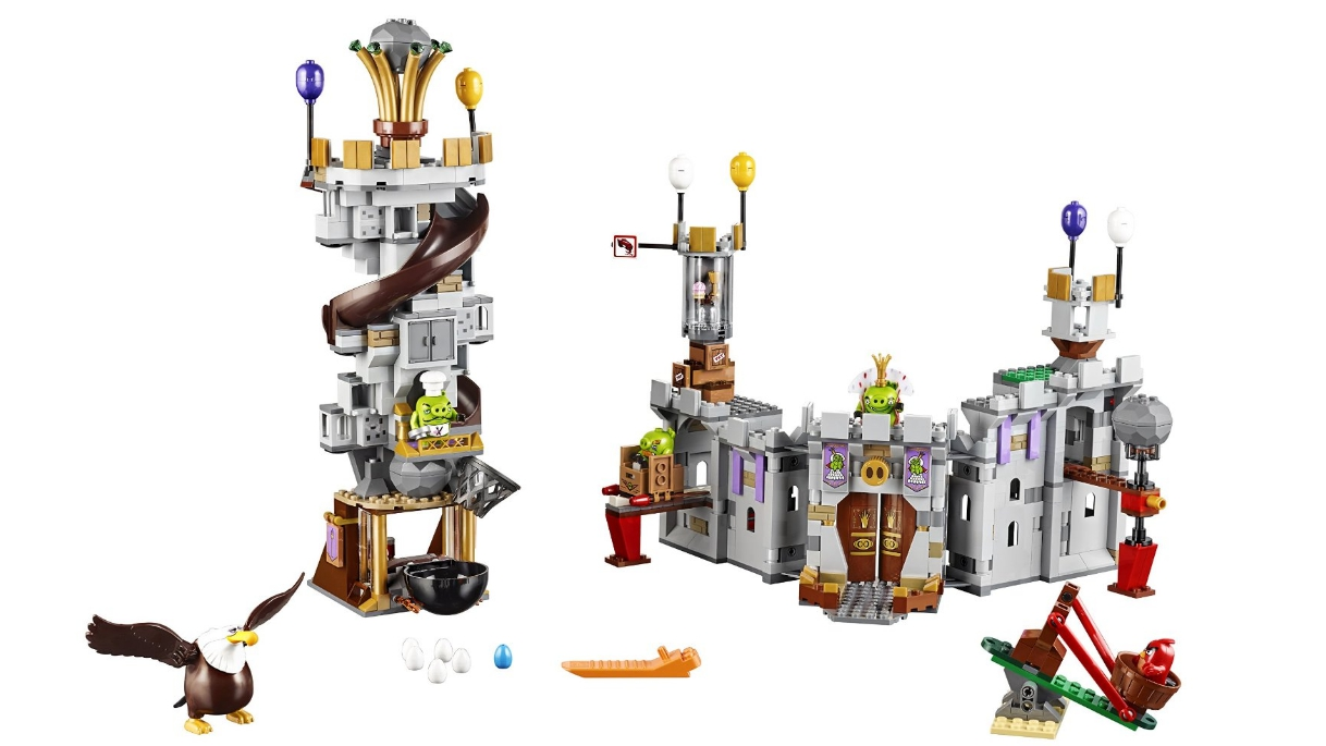 乐高-愤怒的小鸟系列 猪王城堡