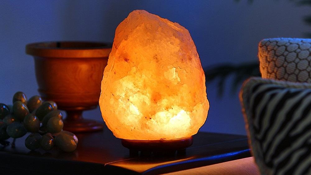 超美喜马拉雅盐灯-自然空气净化!