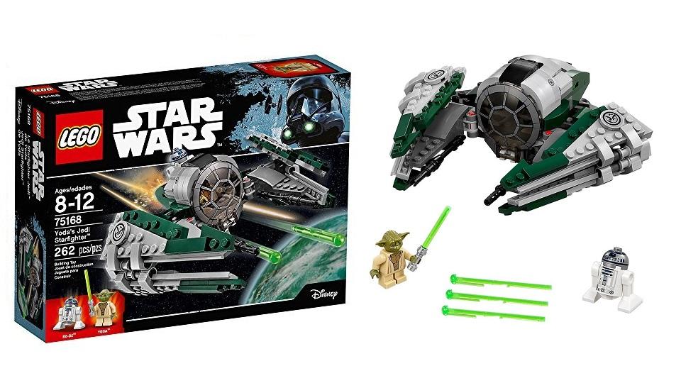LEGO乐高星球大战绝地武士星座战斗机
