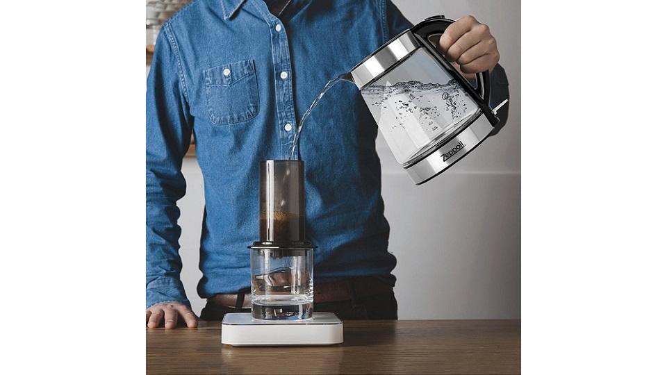 Zeppoli透明电子水壶-颜值高,评价好!