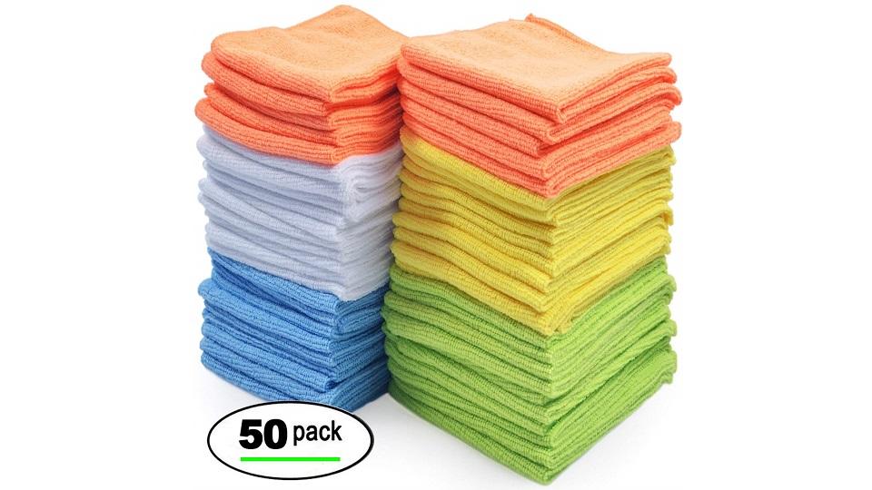 超细纤维清洁布 50份装