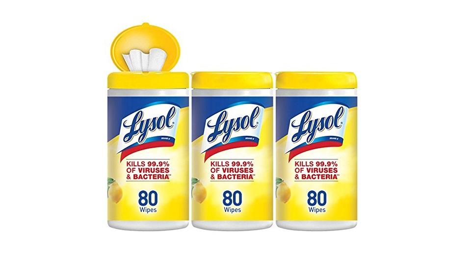 来苏尔消毒擦拭巾超值装-柠檬&菩提花香 240片