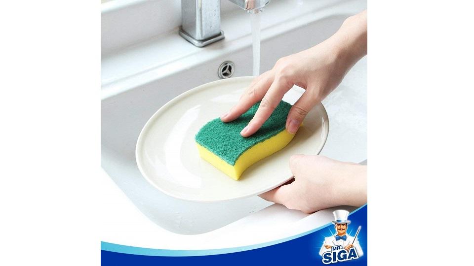 MR. SIGA洗碗擦洗海绵-24片