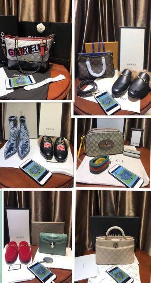 出售奢侈品包包鞋子衣服首饰包邮包税可过专柜验货只要一到两折