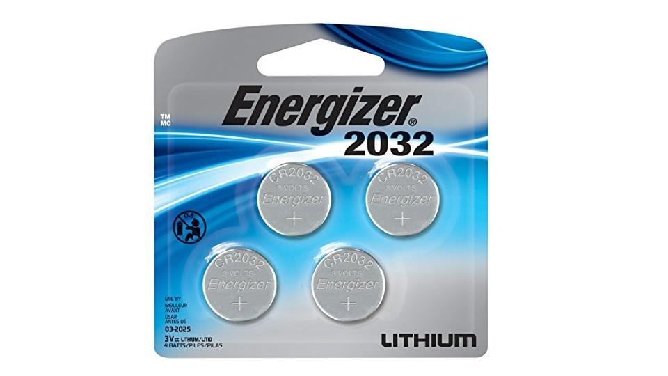 劲量2032BP 3V锂钮扣电池-4只装