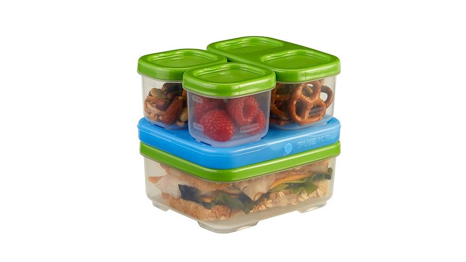 乐柏美三明治午餐饭盒5件套