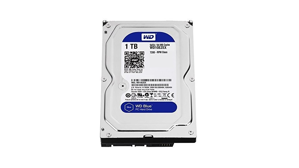 Western Digital 1TB 3.5英寸电脑硬盘-7200 RPM