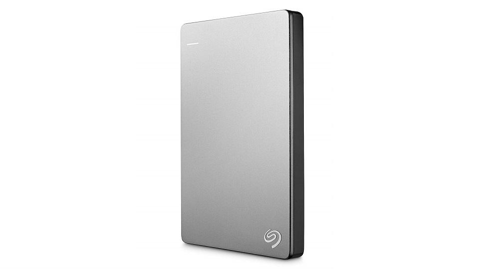 希捷银色1TB便携式移动硬盘-USB 3.0
