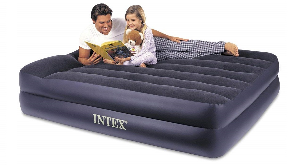 Intex家用充气式气垫床-自带枕头 queen size